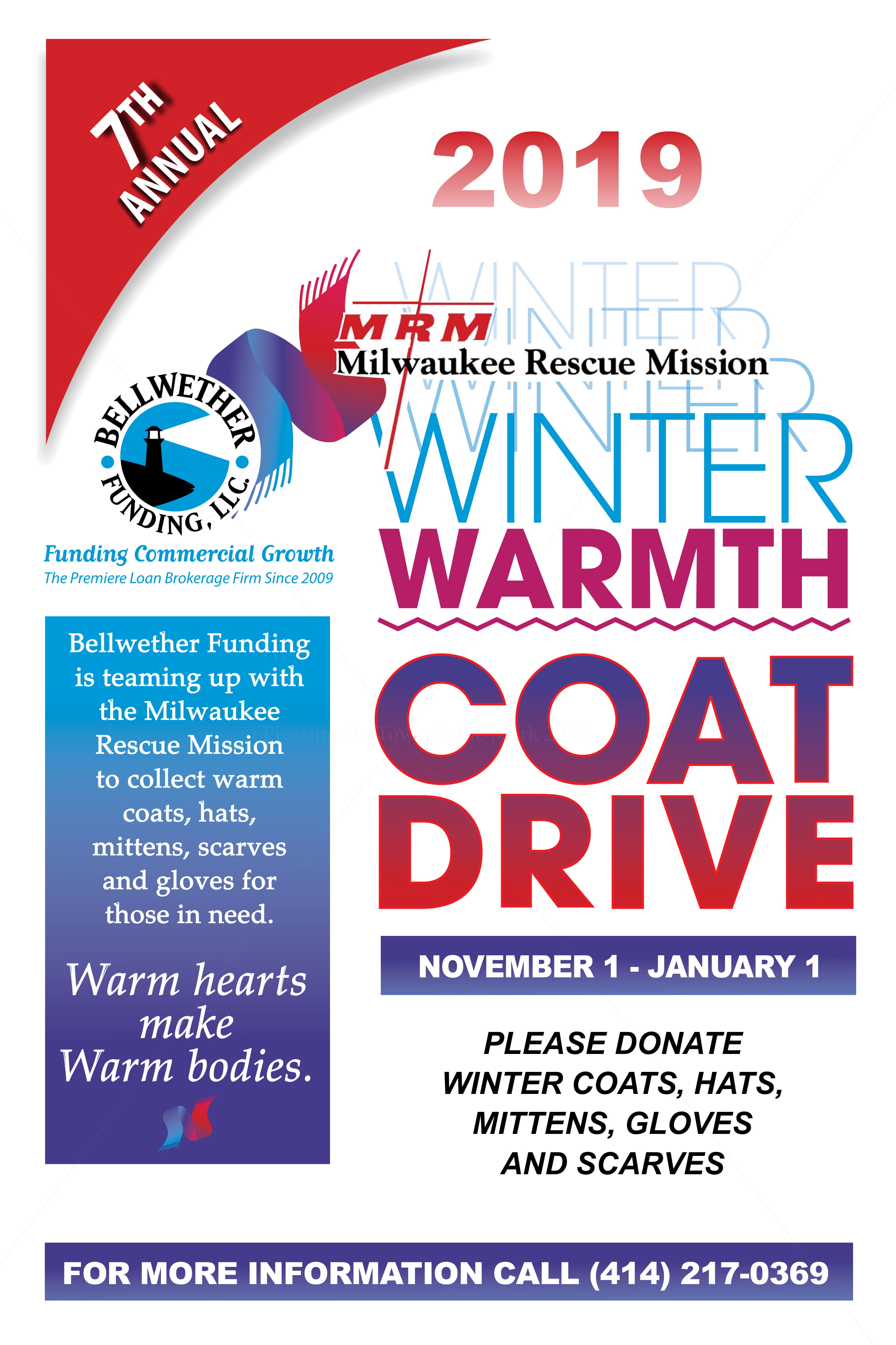 7th Annual Winter Warmth Coat Drive